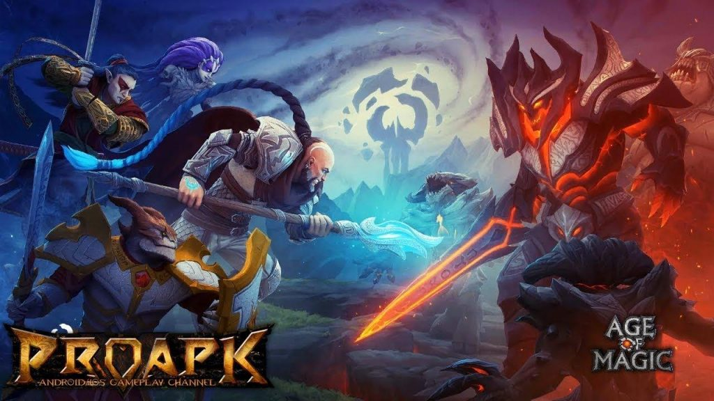 Age of Magic is a mobile turn-based game
